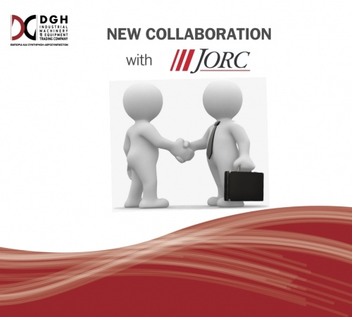 New collaboration of DGH S.A with JORC INDUSTRIAL BV